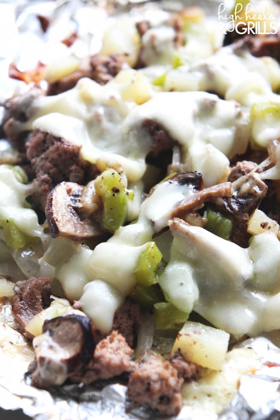 Low-Carb Recipes: Philly Cheesesteak Tinfoil Dinner