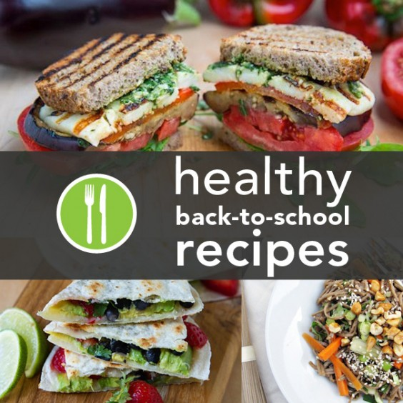 10 Healthy Back-to-School Recipes