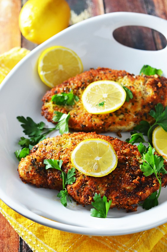 5-Ingredient Dinner: Breaded Chicken