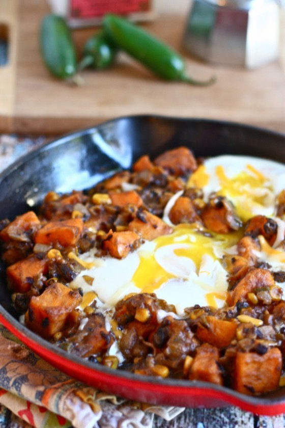 One Pot Meals: Southwestern Sweet Potato Skillet