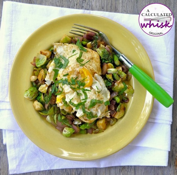 6. Veggie Hash and Eggs