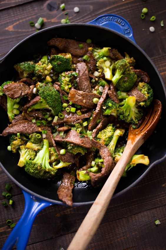 2. Healthy Beef and Broccoli