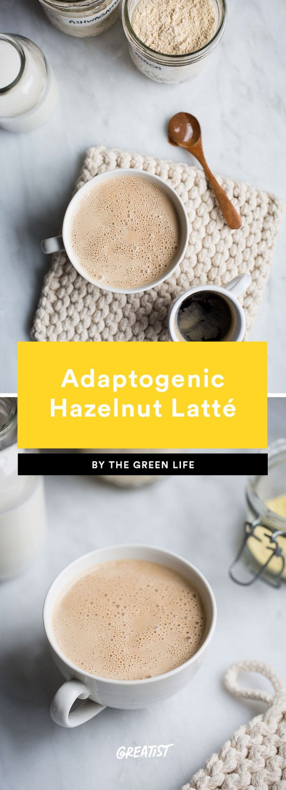 1. Adaptogenic Hazelnut Latté