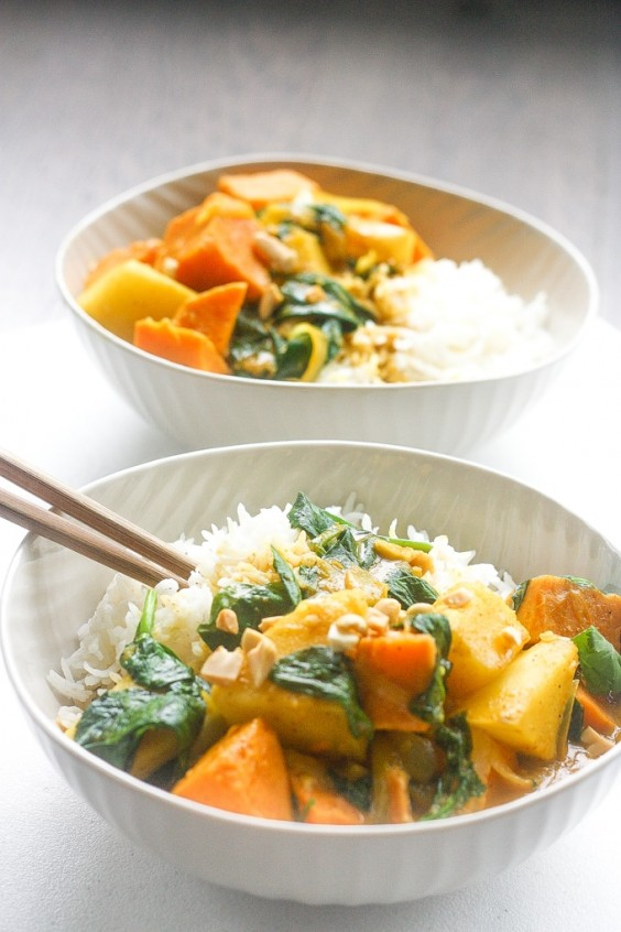 5. Thai Yam and Sweet Potato Yellow Curry