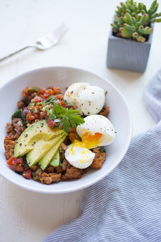 5. Chorizo Breakfast Bowl