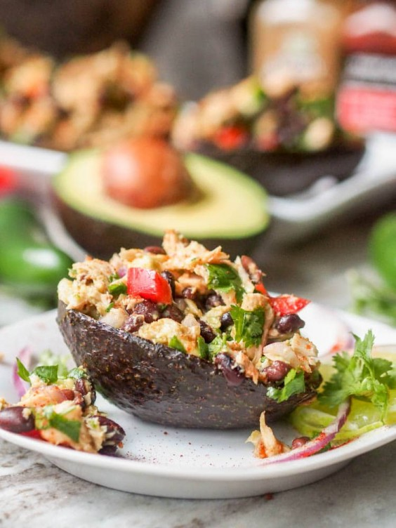 1. Mexican Tuna Avocado Salad