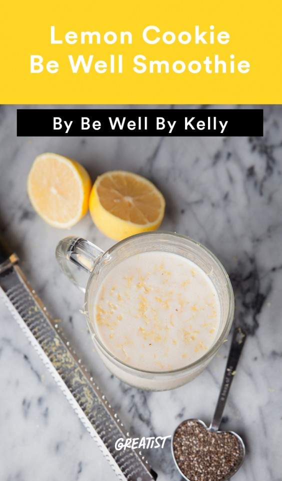 Be Well Lemon Smoothie