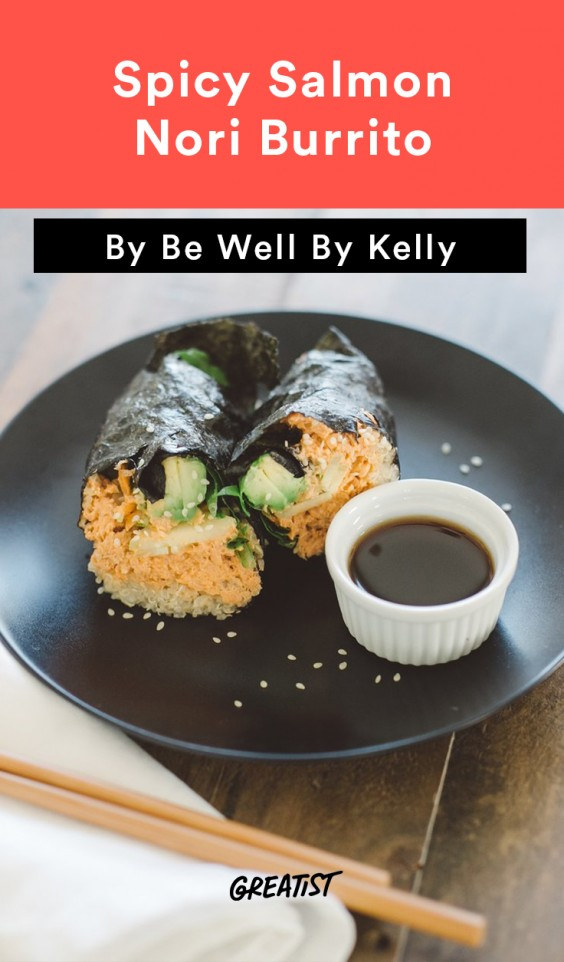 Be Well Sushi Burrito