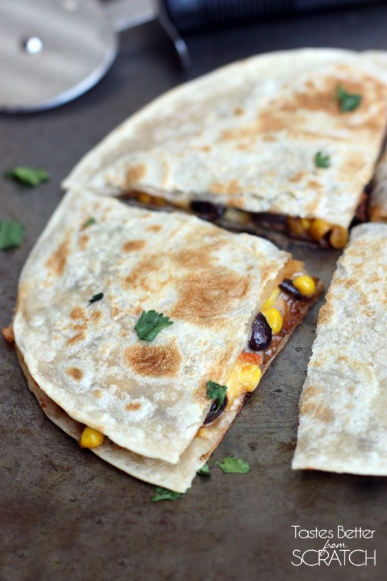Cooking For Two: Black Bean and Corn Quesadillas Recipe
