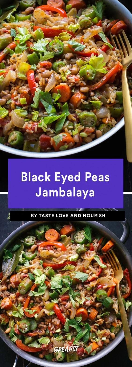 Resep Black Eyed Peas Jambalaya