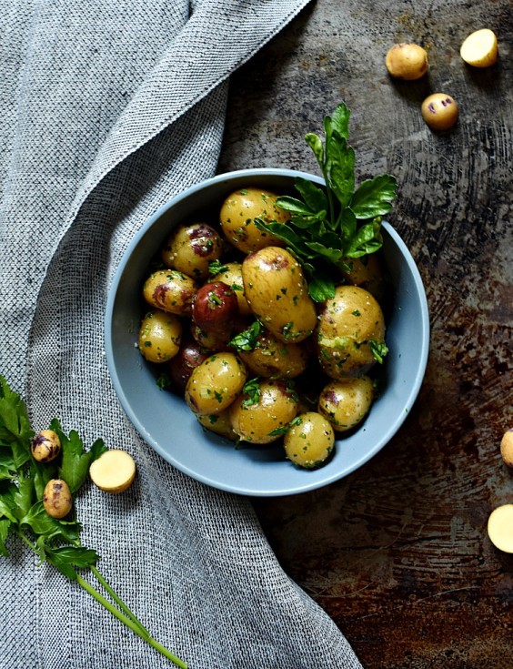 14. Boiled Potatoes With Pesto