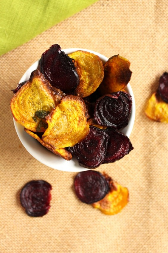 8. Beet Chips