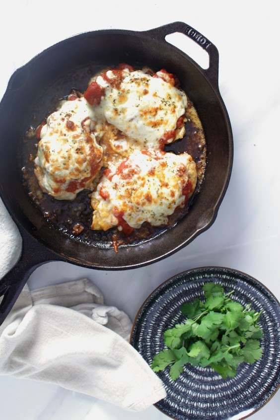 6. Keto Chicken Parmesan