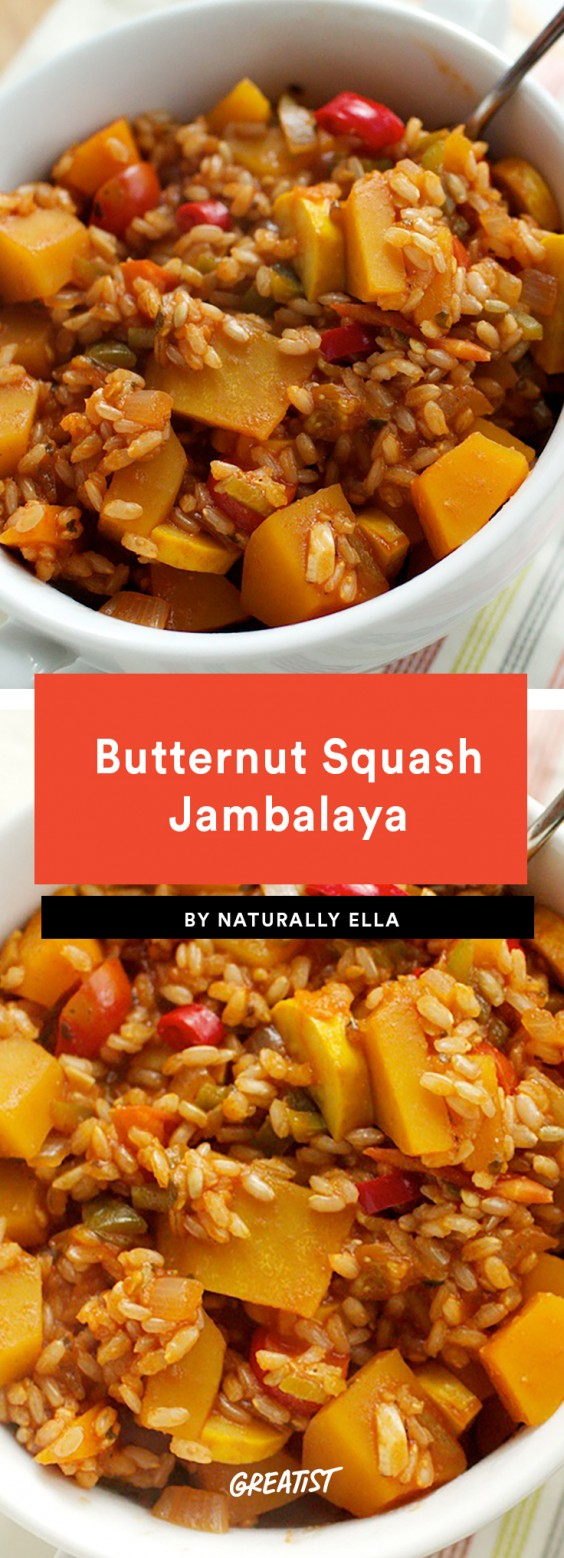 Butternut Squash Jambalaya Recipe