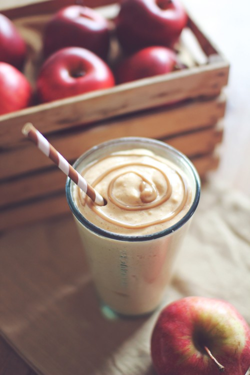 Caramel Apple Protein Shake