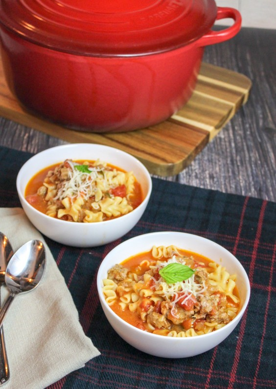 11. Easy Lasagna Soup