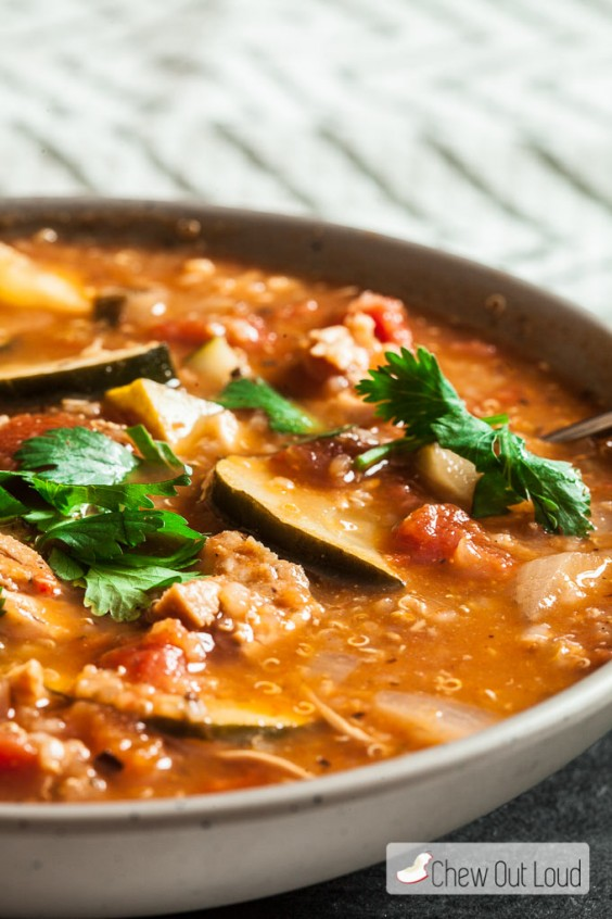 4. 30-Minute Mexican Chicken and Quinoa Stew