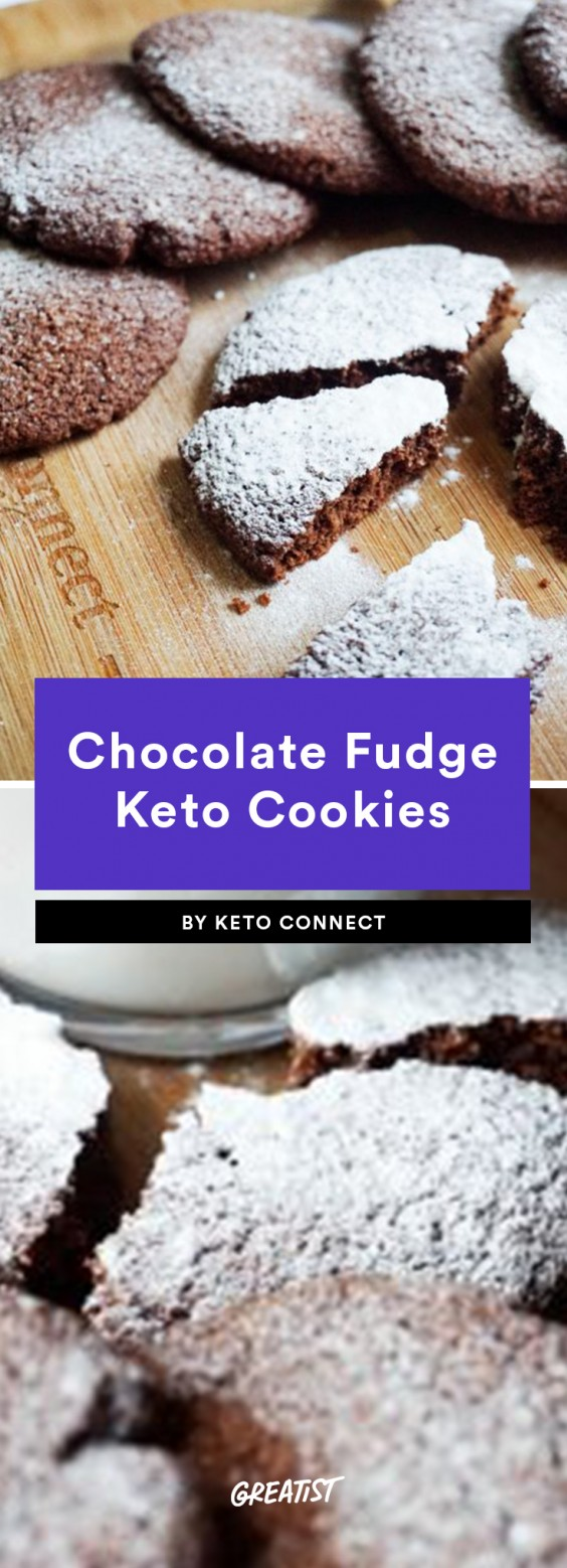 6. Chocolate Fudge Keto Cookies