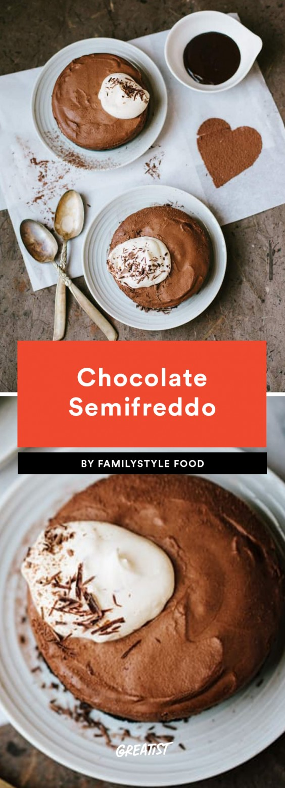 1. Chocolate Semifreddo