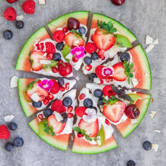 3. Watermelon Pizza