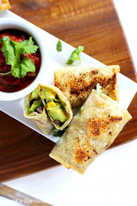 2. Cheesecake Factory: Baked Avocado Egg Rolls