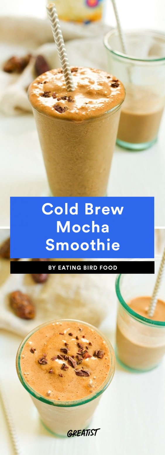 Cold Brew Mocha Smoothie