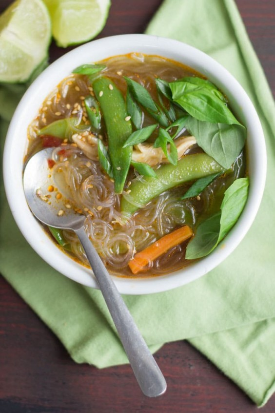 10. Hot and Sour Glass Noodle Soup