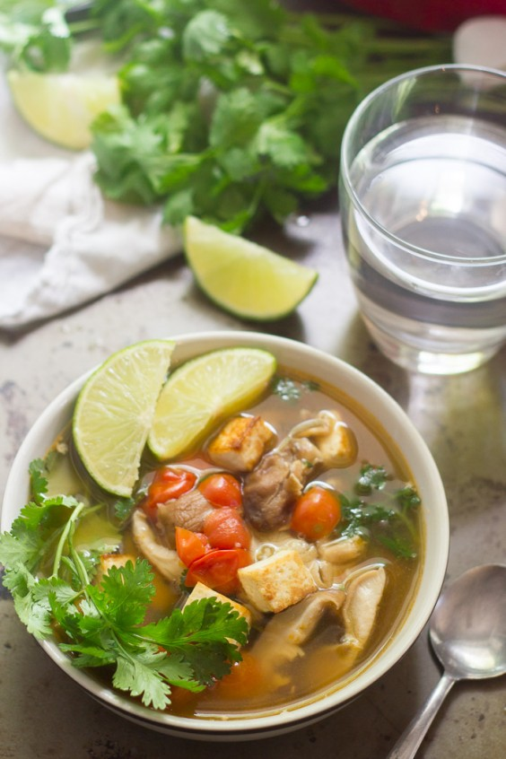 4. Thai Lemongrass Soup