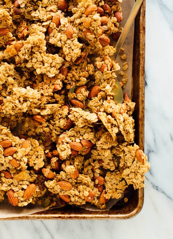 Orange and Almond Granola Recipe