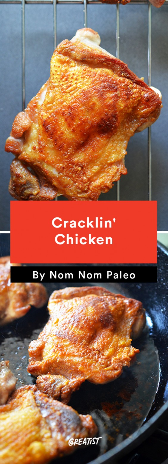 1. Cracklin' Chicken