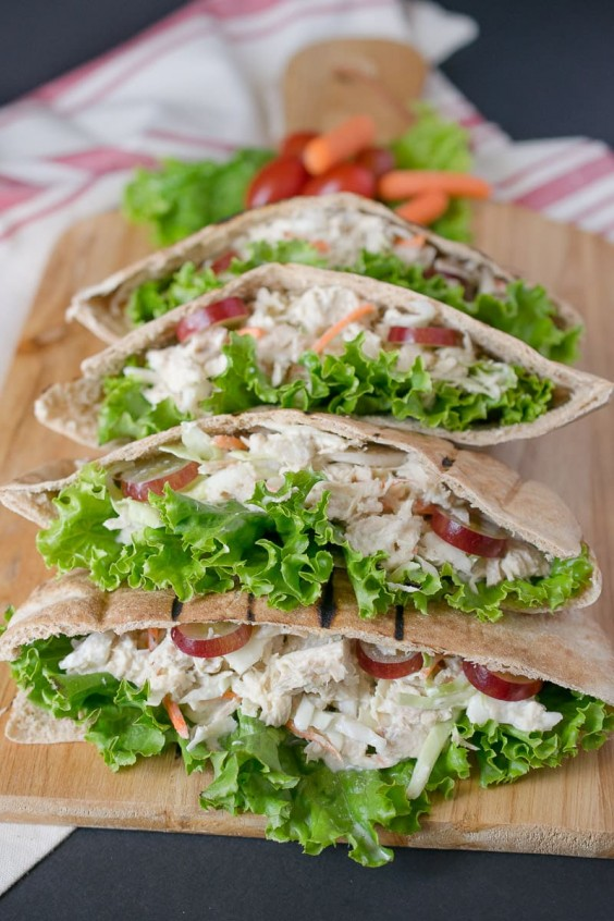 9. Tuna Pita Pockets