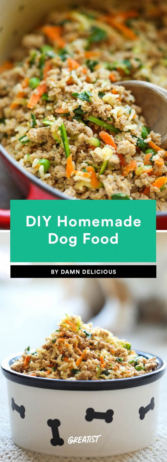 1. DIY Homemade Dog Food