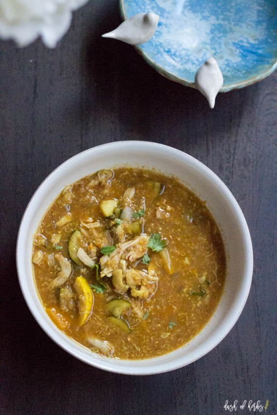 8. Slow-Cooker Moroccan Chicken Soup