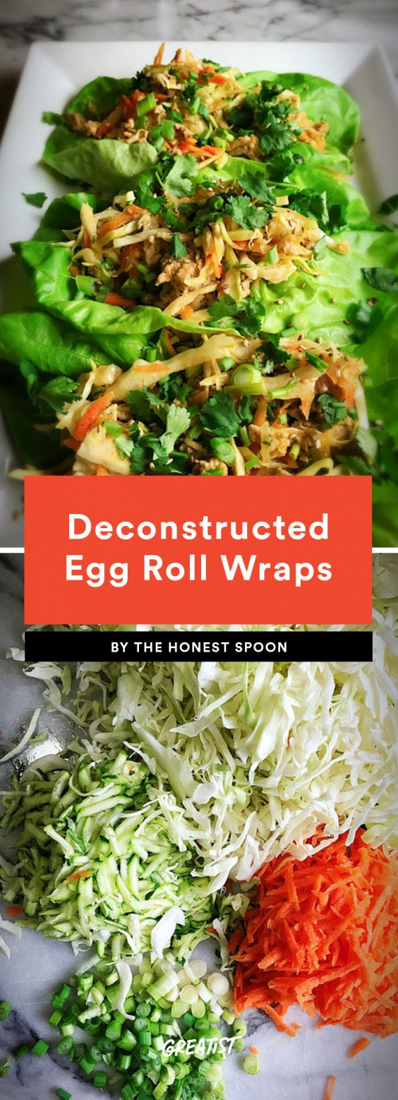 Deconstructed Egg Roll Wraps Recipe