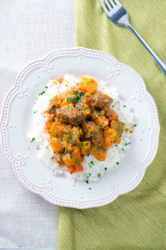 2. Beef and Butternut Squash Stew