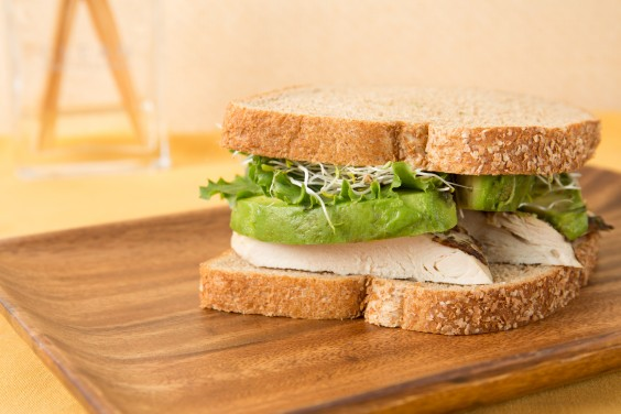 Jackie Warner: Avocado and Sprout Sandwich