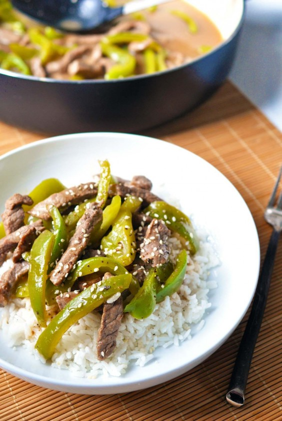 6. 30-Minute Pepper Steak
