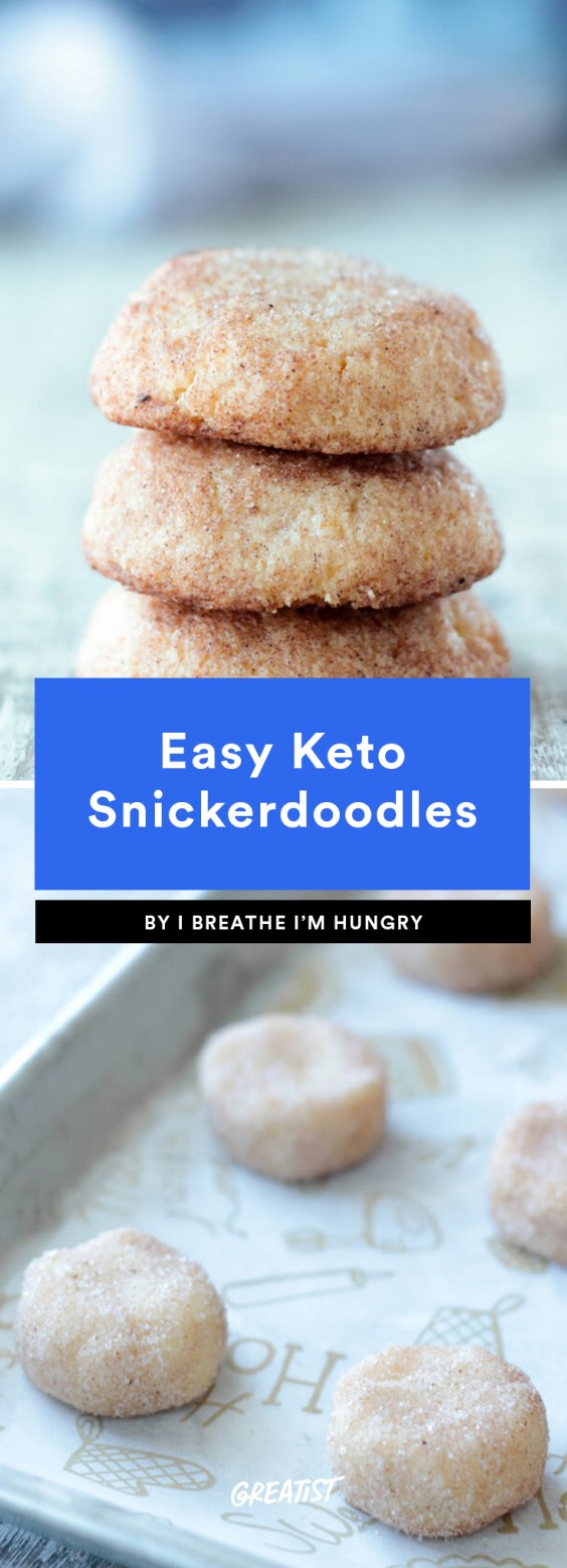 1. Easy Keto Snickerdoodles