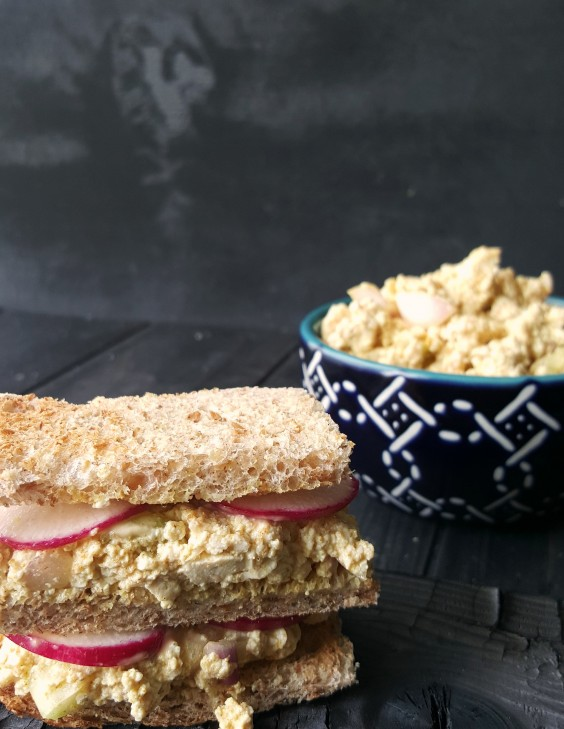 Tofu Recipes: Eggless Sandwich
