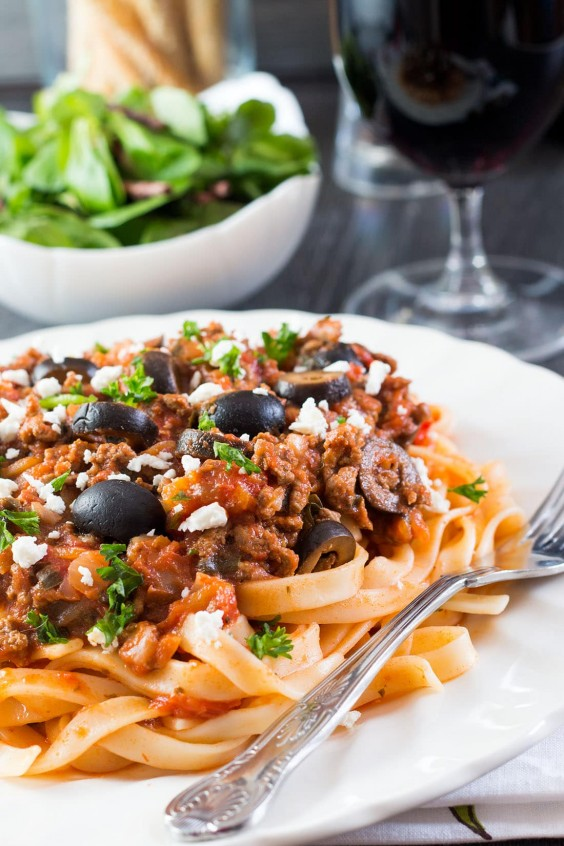 1. Greek Style Meat Sauce