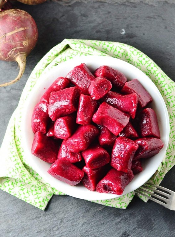 5. Beetroot Potato Dumplings