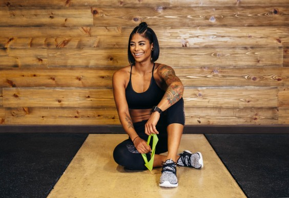 9 Core-Strengthening Resistance Band Moves You Can Do Anywhere