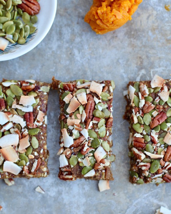 Vegan Pumpkin Pie Energy Bars