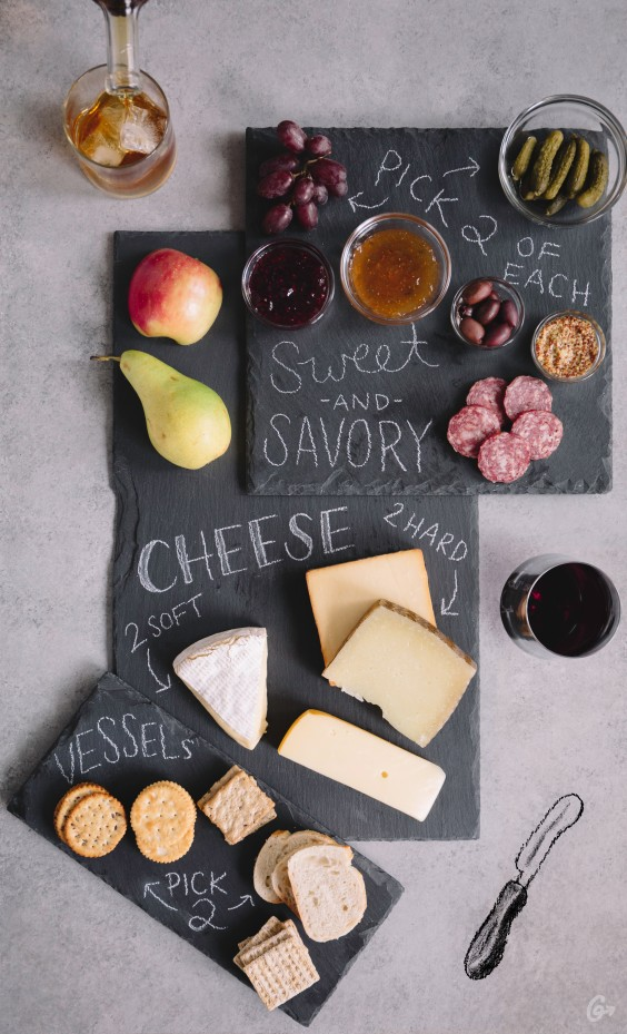 Cheese Plate Graphic