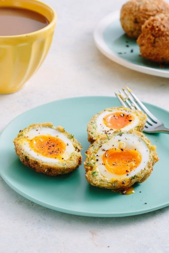2. Falafel Scotch Eggs