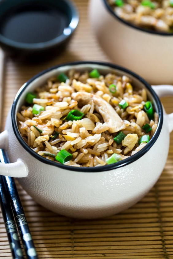 3. Easy Chicken Fried Rice