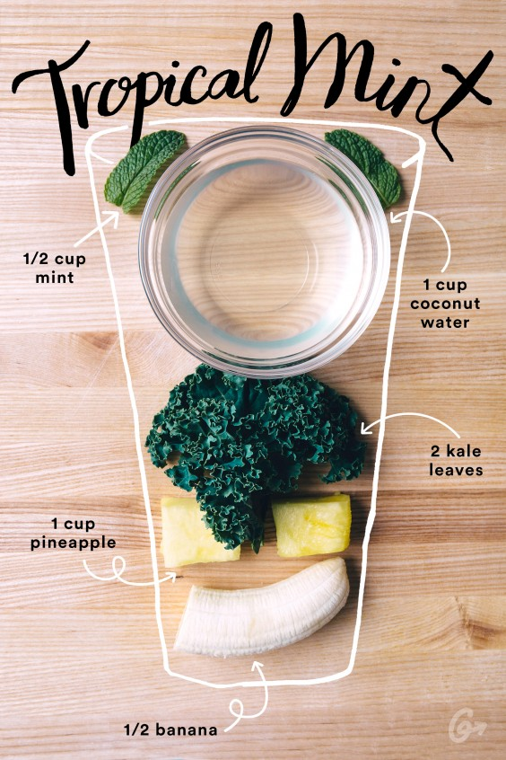 Tropical Mint Smoothie