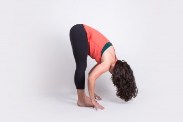6. Forward Bend (Uttanasana)