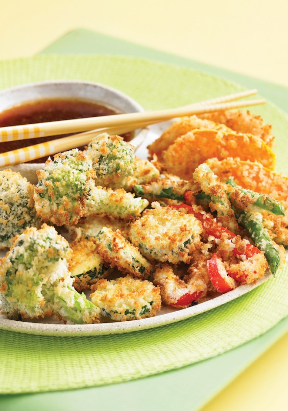 4. Tempura-Style Vegetables
