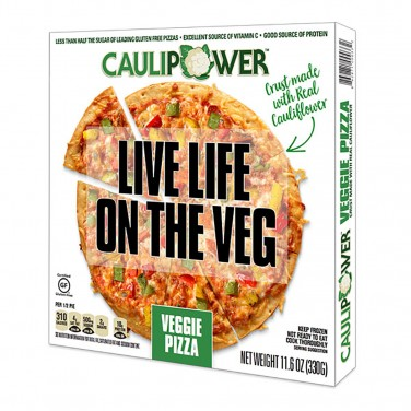 2. Caulipower Veggie Pizza